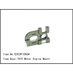 EXOP-0504  7075 Motor Engine Mount
