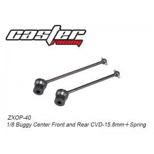 ZXOP-40  1/8 Buggy Center Front and Rear CVD-15.8mm+Spring