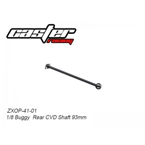 ZXOP-41-01  1/8 Buggy Rear CVD Shaft 93mm