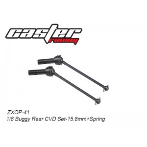 ZXOP-41  1/8 Buggy Rear CVD Set-15.8mm+Spring