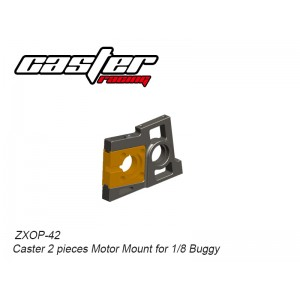 ZXOP-42  Caster 2 pieces Motor Mount for 1/8 Buggy