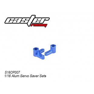S16OP007 1/16 Alum Servo Saver Sets