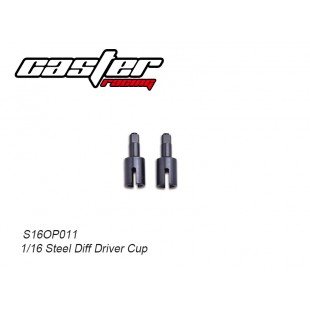S16OP011 1/16 Steel Diff Driver Cup