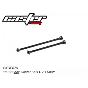 SKOP076 1/10 Buggy Center F&R CVD Shaft