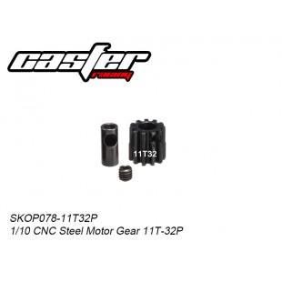SKOP078-11T32P  1/10 CNC Steel Motor Gear 11T-32P