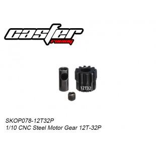 SKOP078-12T32P  1/10 CNC Steel Motor Gear 12T-32P