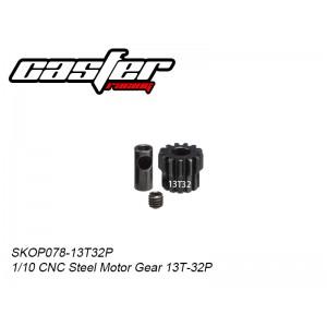 SKOP078-13T32P  1/10 CNC Steel Motor Gear 13T-32P