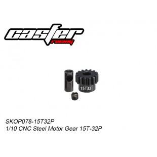 SKOP078-15T32P  1/10 CNC Steel Motor Gear 15T-32P
