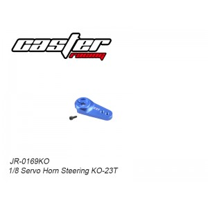 JR-0169KO  1/8 Servo Horn Steering KO-23T