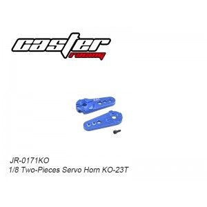 JR-0171KO  1/8 Two-Pieces Servo Horn KO-23T