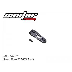 Servo Horn 23T-KO  Black