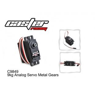 C9849  9kg Analog Servo Metal Gears