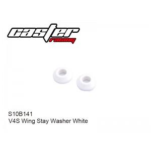S10B141  V4S Wing Stay Washer White
