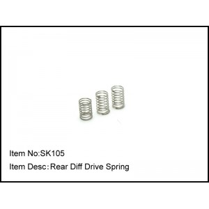SK105  Rear Diff Drive Spring