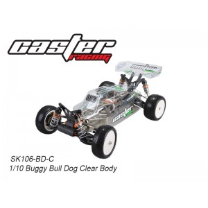 SK106-BD-C      1/10  Bull Dog Body Clear +Clear Wing