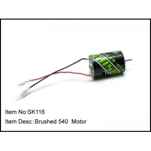 SK116  Brushed540-30000 RPM Motor