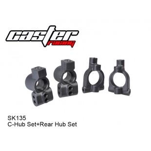 SK135  C-Hub Set+Rear Hub Set