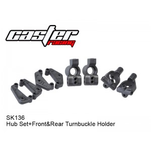 SK136   Hub Set+Front&Rear Turnbuckle Holder