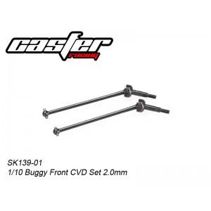 SK139-01  1/10 Buggy Front CVD Set 2.0mm