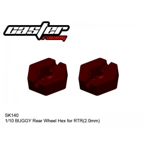 SK140  1/10 BUGGY Rear Wheel Hex for RTR(2.0mm)