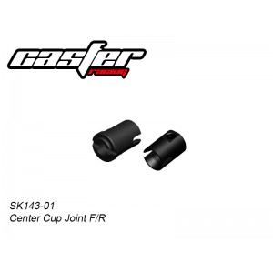 SK143-01   1/10 Center Cup Joint F&R