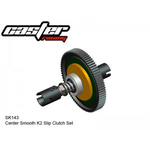 SK143  Center Smooth K2 Slip Clutch Set