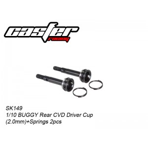 SK149 1/10 BUGGY Rear CVD Driver Cup(2.0mm)+Springs 2pcs