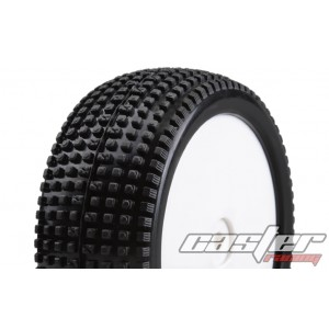 SK159  1/10 Buggy Tire Full Set - Line Square