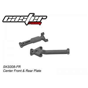 SKS008-FR Center Front & Rear Plate