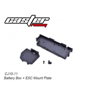 CJ10-11 CJ10 Battery Box + ESC Mount Plate