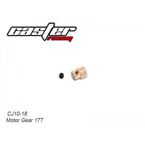 CJ10-18 CJ10 Motor Gear 17T