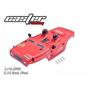CJ10-20RE CJ10 Body (Red)