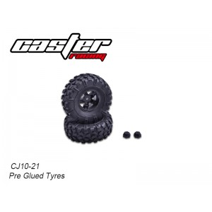 CJ10-21 CJ10 Tires 2pcs