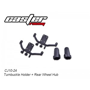 CJ10-24  CJ10 Turnbuckle Holder + Rear Wheel Hub