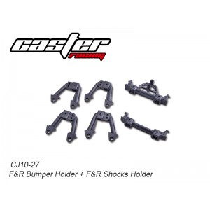 CJ10-27 CJ10 F&R Bumper Holder + F&R Shocks Holder
