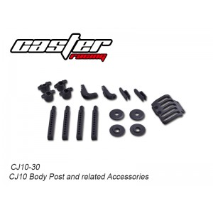 CJ10-30  CJ10 Body Post and related Accessories