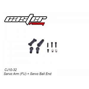 CJ10-32  CJ10 Servo Arm (FU) + Servo Ball End