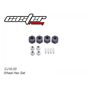 CJ10-33  CJ10 Wheel Hex Set