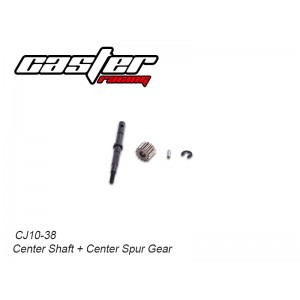 CJ10-38  CJ10 Center Shaft + Center Spur Gear