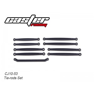 CJ10-53  CJ10 Tie-rods Set