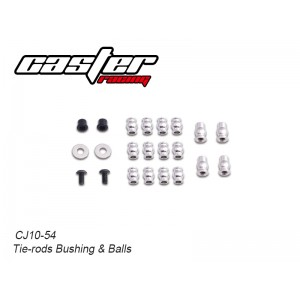 CJ10-54  CJ10 Tie-rods Bushing & Balls