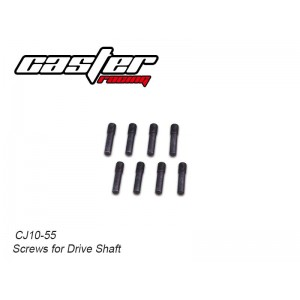 CJ10-55  CJ10 Screws for Drive Shaft