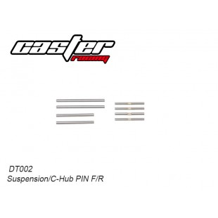 DT002 Suspension/C-Hub PIN F&R