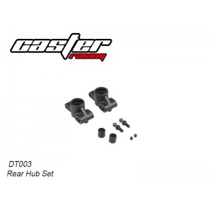 DT003 Rear Hub Set