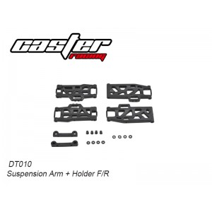 DT010  Suspension Arm+Holder F/R