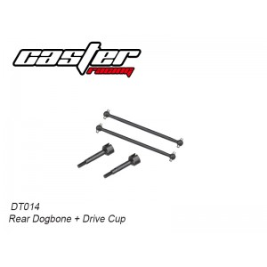 DT014 Rear Dogbone+Drive Cup