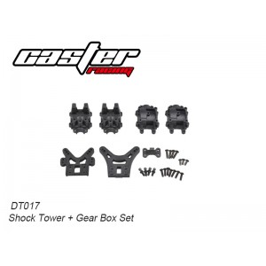 DT017 Shock Tower +Gear Box Set