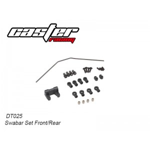 DT025 Swaybar set front/rear