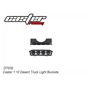 DT030 Caster 1:10 Desert Truck Light Buckets