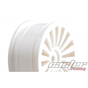 SRZ-039  1/10 Touring F/R Rim,16 Spoke ,White